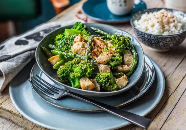 Recept: Piletina sa zelenim povrćem