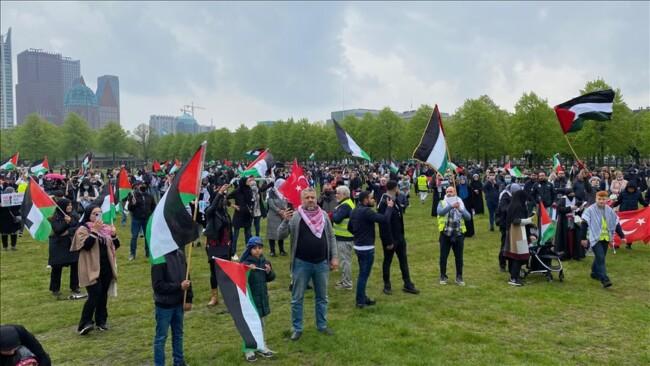 Protesti u Holandiji