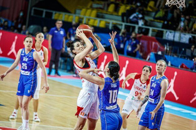 Eurobasket za žene: BiH savladala Tursku i plasirala se u drugi krug