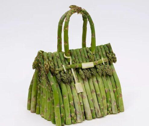 Hermès predstavlja seriju torbi Birkin napravljenu od pravog povrća
