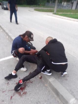 Drama u Vogošći: Muškarac zboden nožem