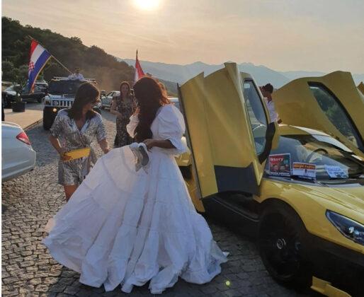 Mate i Katarina Rimac se vjenčali na Livanjskom polju