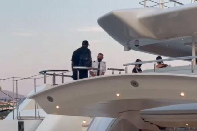 Majkl Džordan u Splitu odmara na jahti VIDEO