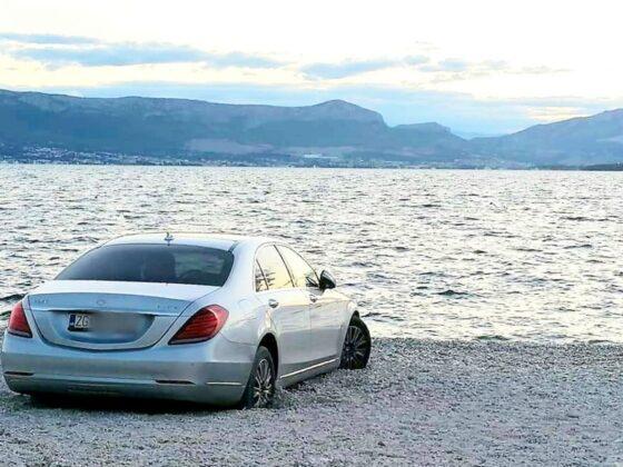 Prizor s plaže u Hrvatskoj sve nasmijao: Pogled s parkinga