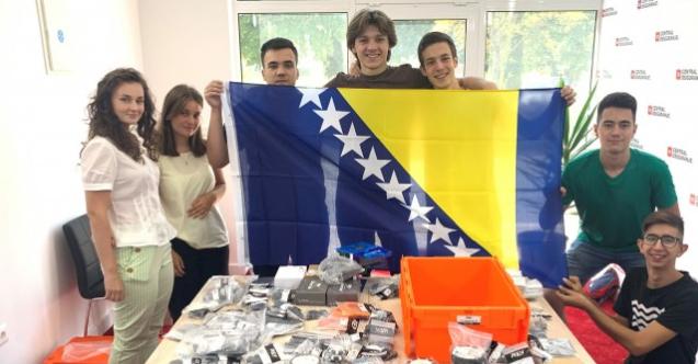 Robotički tim BiH osvojio prvo mjesto na Međunarodnoj robotičkoj olimpijadi