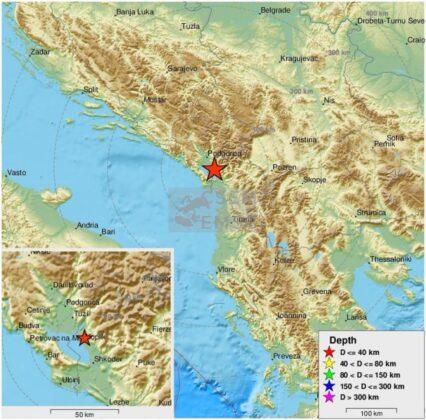 Jak zemljotres pogodio Albaniju, građani uznemireni