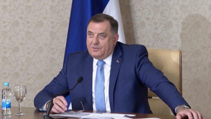 Dodik prijeti EU i NATO-u: Imamo zaštitnike, na sankcije ćemo odgovoriti