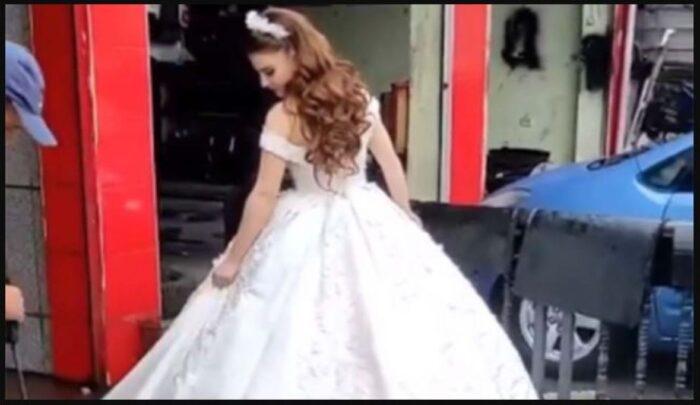 Mladenka uprljala vjenčanicu pa je oprala u autopraonici